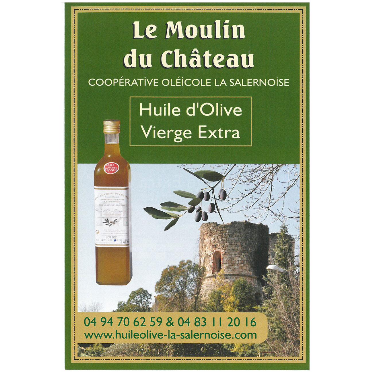 Coopérative Oléicole La Salernoise - Moulin du Château
