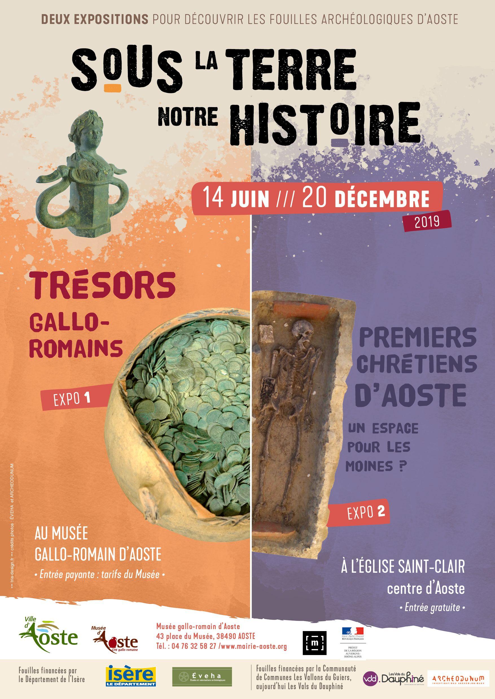 Exposition Sous la terre, notre histoire : Trésors gallo-romains
