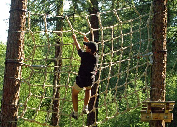 Parc acrobatique des amoureux - © Parc acrobatique des amoureux