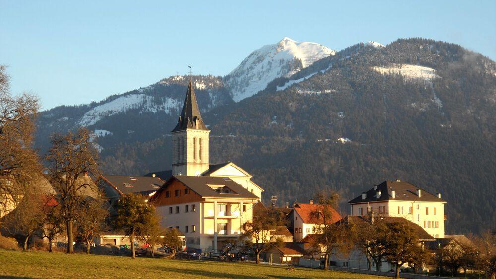 City town of Viuz-en-Sallaz