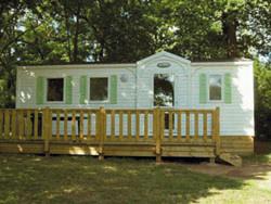 Camping de Champ Fossé Mobil-home Ⓒ Camping de Champ Fossé