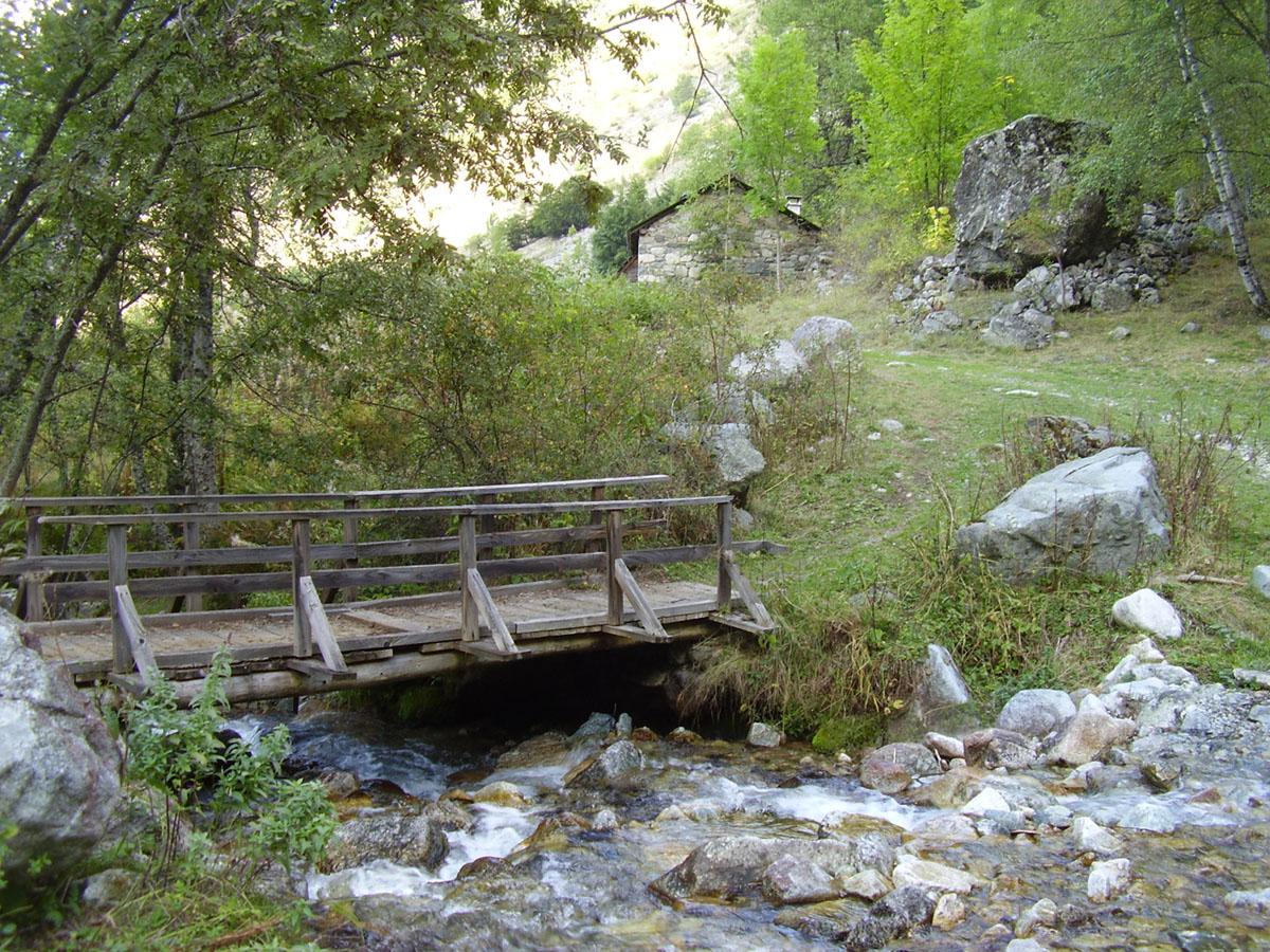 Itinéraire de randonnée jusqu'aux cabanes de Prentiq