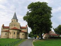 Église Sainte-Radegonde Vue d'ensemble Ⓒ Mairie de Cognat-Lyonne