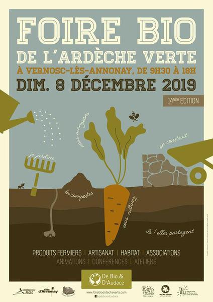 Foire bio de l'Ardèche Verte - Vernosc-lès-Annonay
