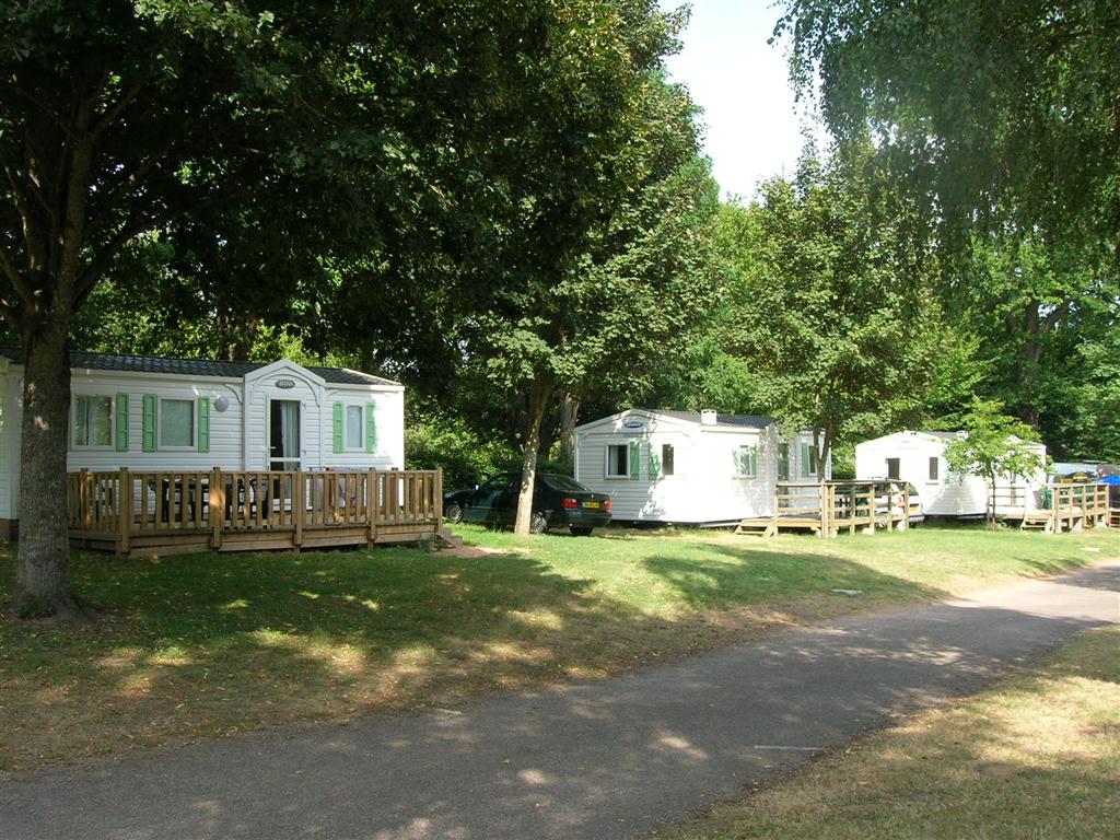 Camping de Champ Fossé Mobil-homes Ⓒ Camping de Champ Fossé - 2014