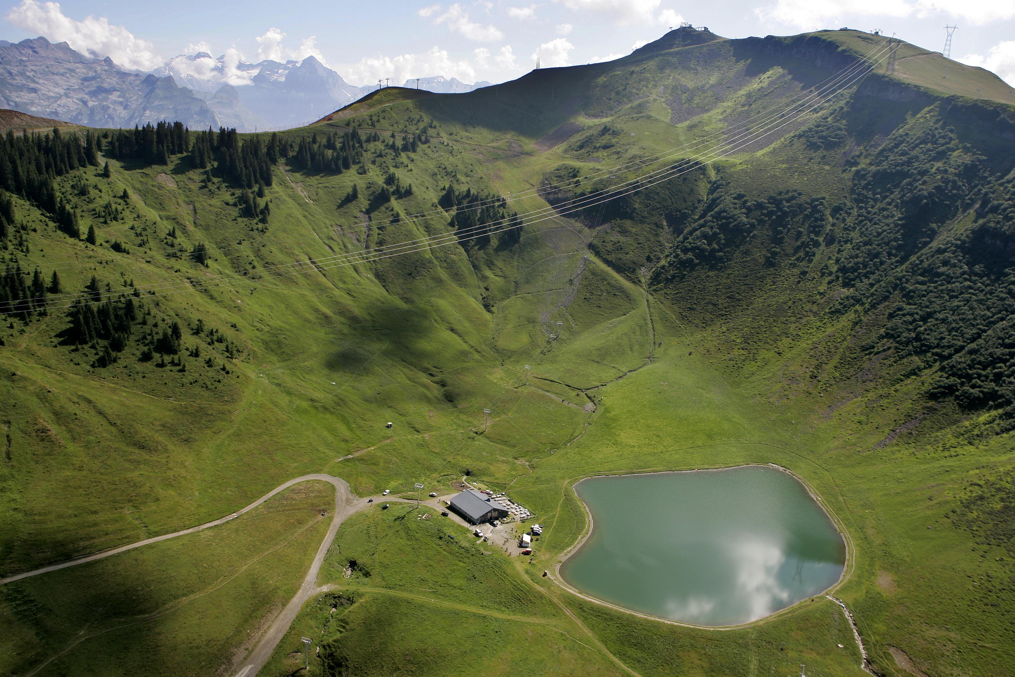 Alpage et lac de l'Airon