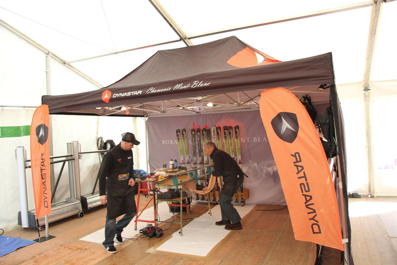 23e Salon du matériel de ski alpinisme.