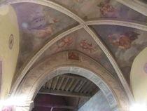 Eglise Meaulne Plafond peint Ⓒ Mairie de Meaulne pch