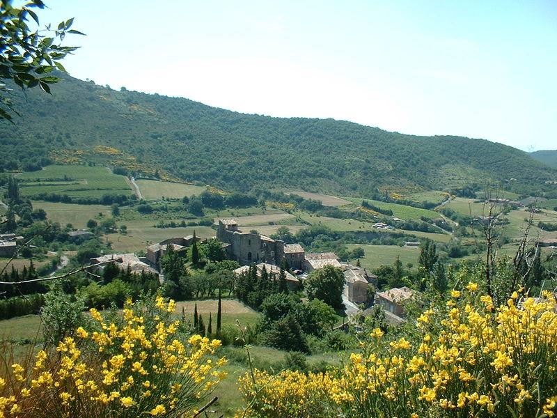 Village d'Aubignas - Aubignas