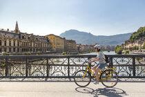 Velo passerelle Saint Laurent Grenoble Alpes Metropole Lucas Frangella