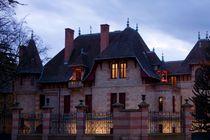Auvergne-Allier-Moulins-La Maison Mantin-Nuit - 850px