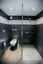 Fasthôtel - Auberge du Grand Champ Salle de bains (wc et douche) Ⓒ Site internet Fasthôtel - 2020