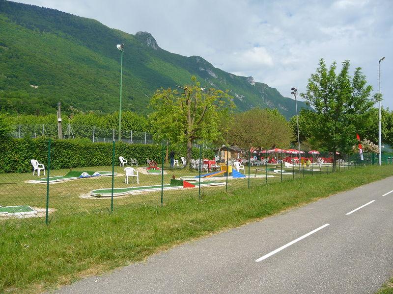 Le minigolf, le Bourget-du-Lac