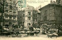 Carte postale ancienne Place du Peuple
