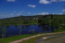 Piste de l'étang du Charrais Ⓒ Nathalie SCHMITT