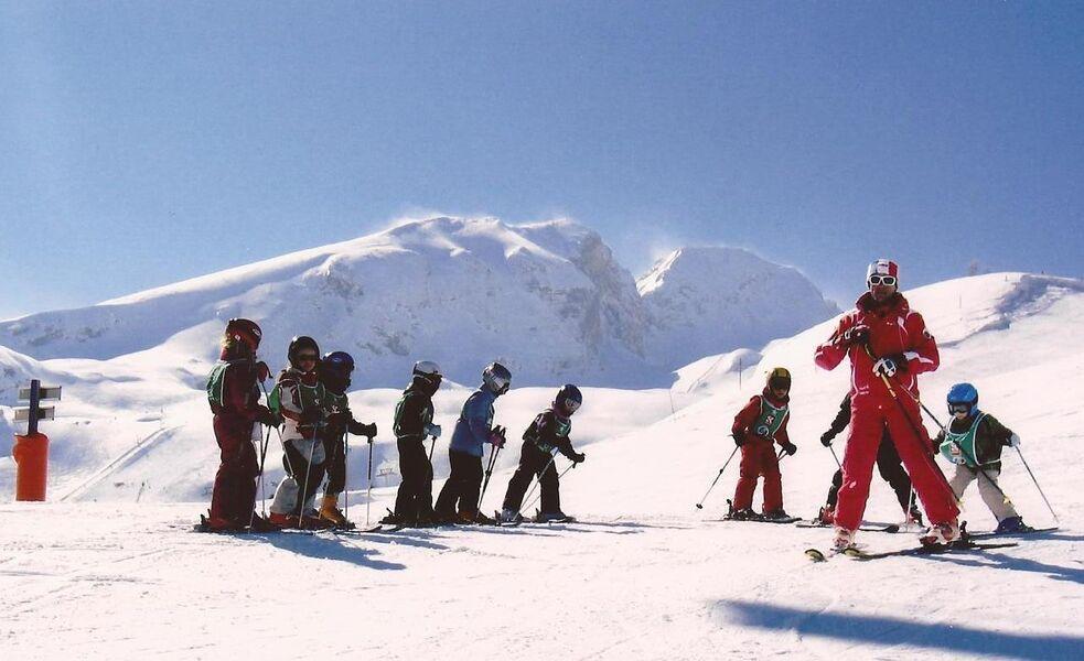 Apprendre le ski avec l'Ecole de Ski Français du Dévoluy - 1 - © ESF Dévoluy
