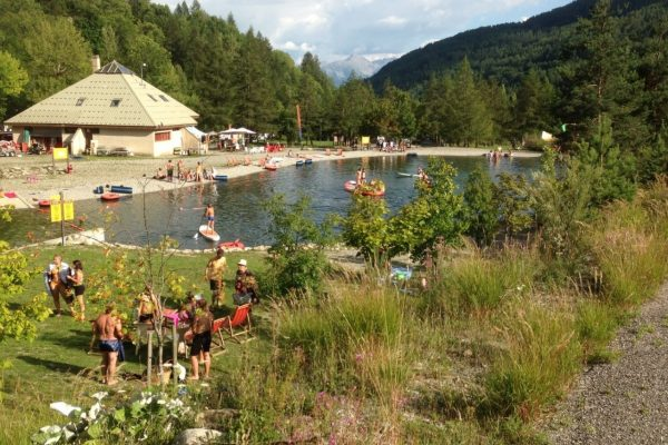 Camping de Réallon – Base de loisirs de l'Iscle