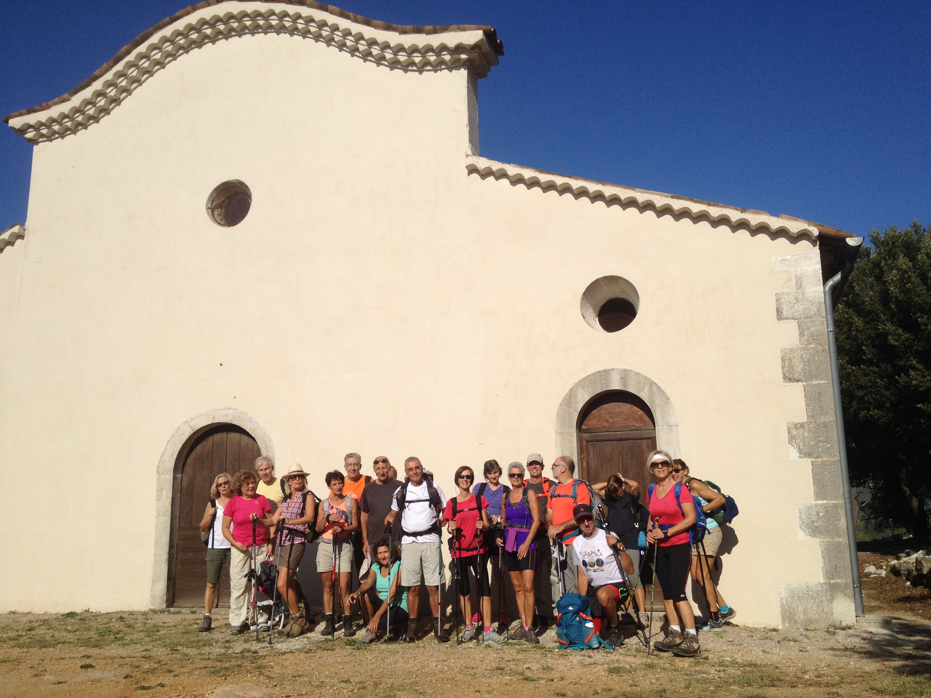 Randonnée pédestre: la forêt du Puy, la chapelle Sainte Anne et l'Oppidum