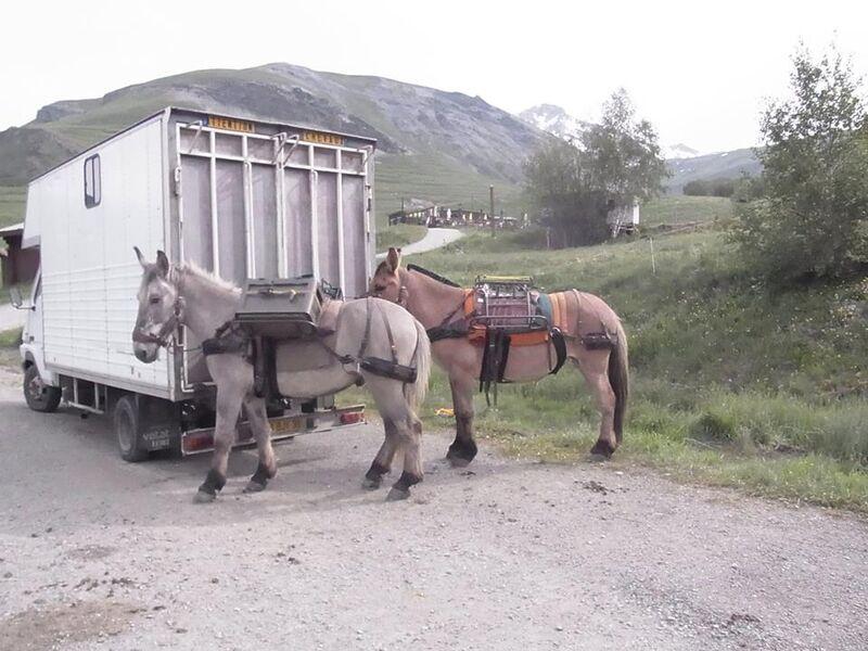 Les Mules, une aide au balisage - La Grave - © @Cheminsd'Avant
