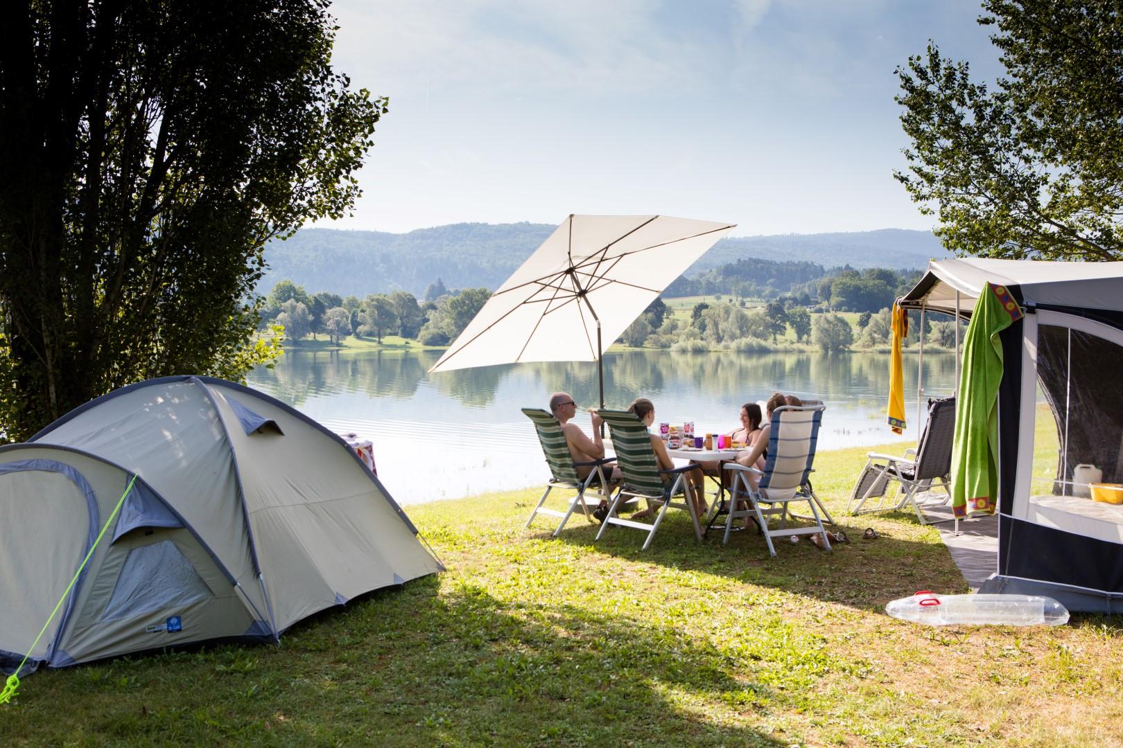 Camping des Gorges de l'Oignin