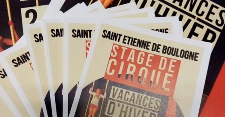 Stages de cirque - Saint-Etienne-de-Boulogne - Saint-Étienne-de-Boulogne