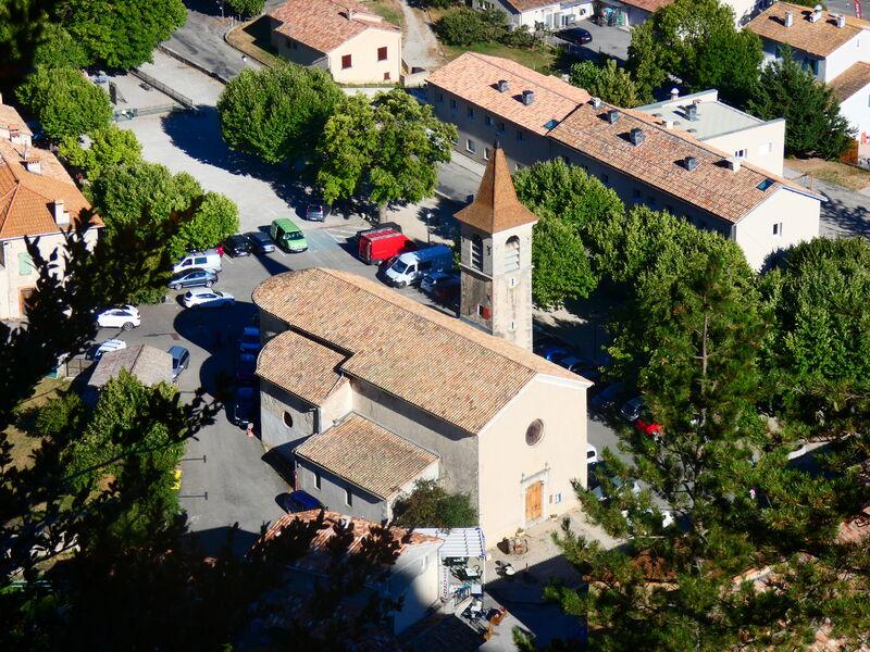 Village médiéval d'Orpierre - © Office de Tourisme Sisteron Buëch