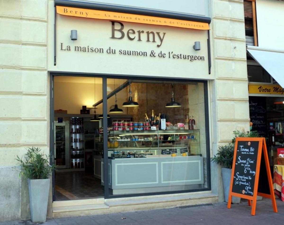 Berny La Maison du saumon et de l'Estragon