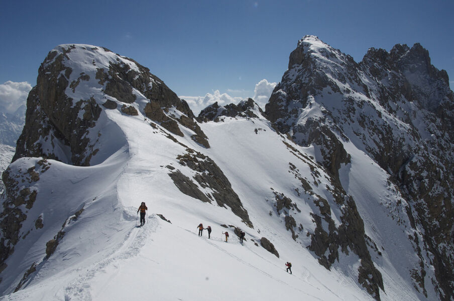 Du Goleon Au Mont Thabor A Ski Avec Paulo Grobel Hautes Alpes