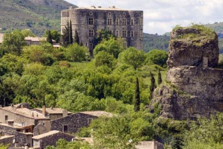 Visite guidée du Château d'Alba - Alba-la-Romaine