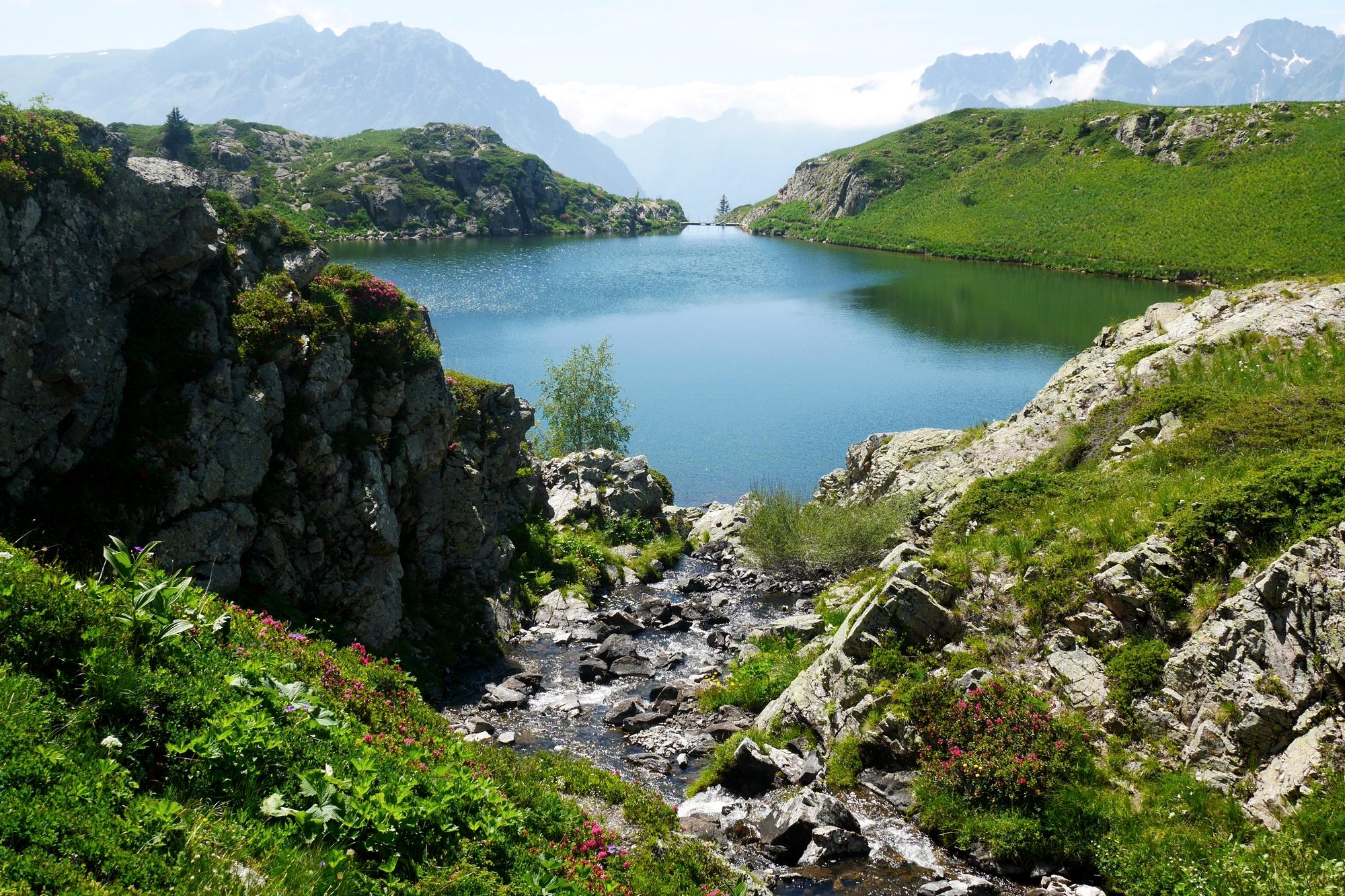 Vue sur le Lac Noir