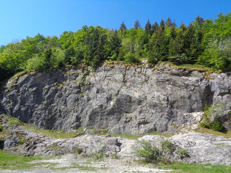 Site d'escalade - Le Rocher Blanc