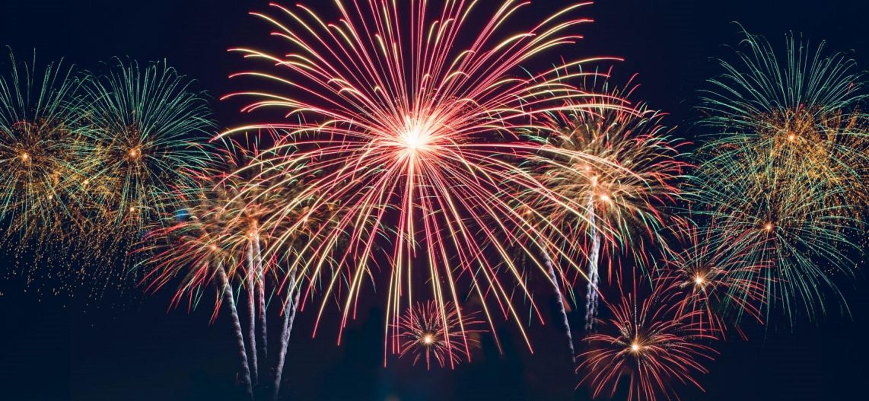 13 juillet : village en fête et feux dartifice (Lalouvesc,