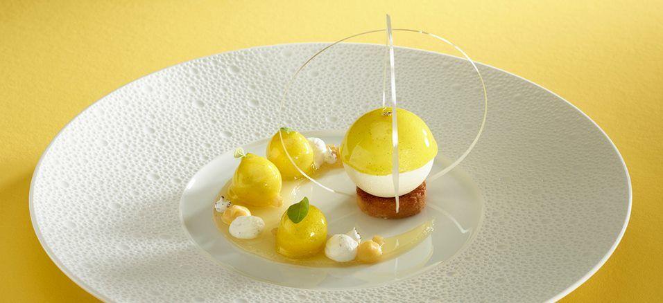 Tarte au citron meringué revisité