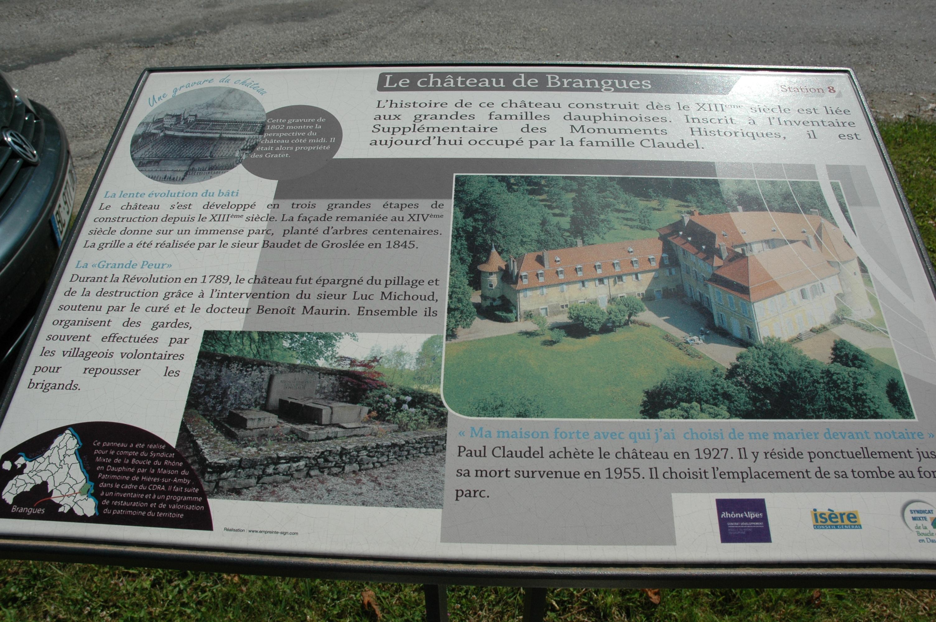 Parcours patrimonial Brangues - OTSI Morestel