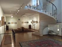 escalier du centre d'art vu du bas
