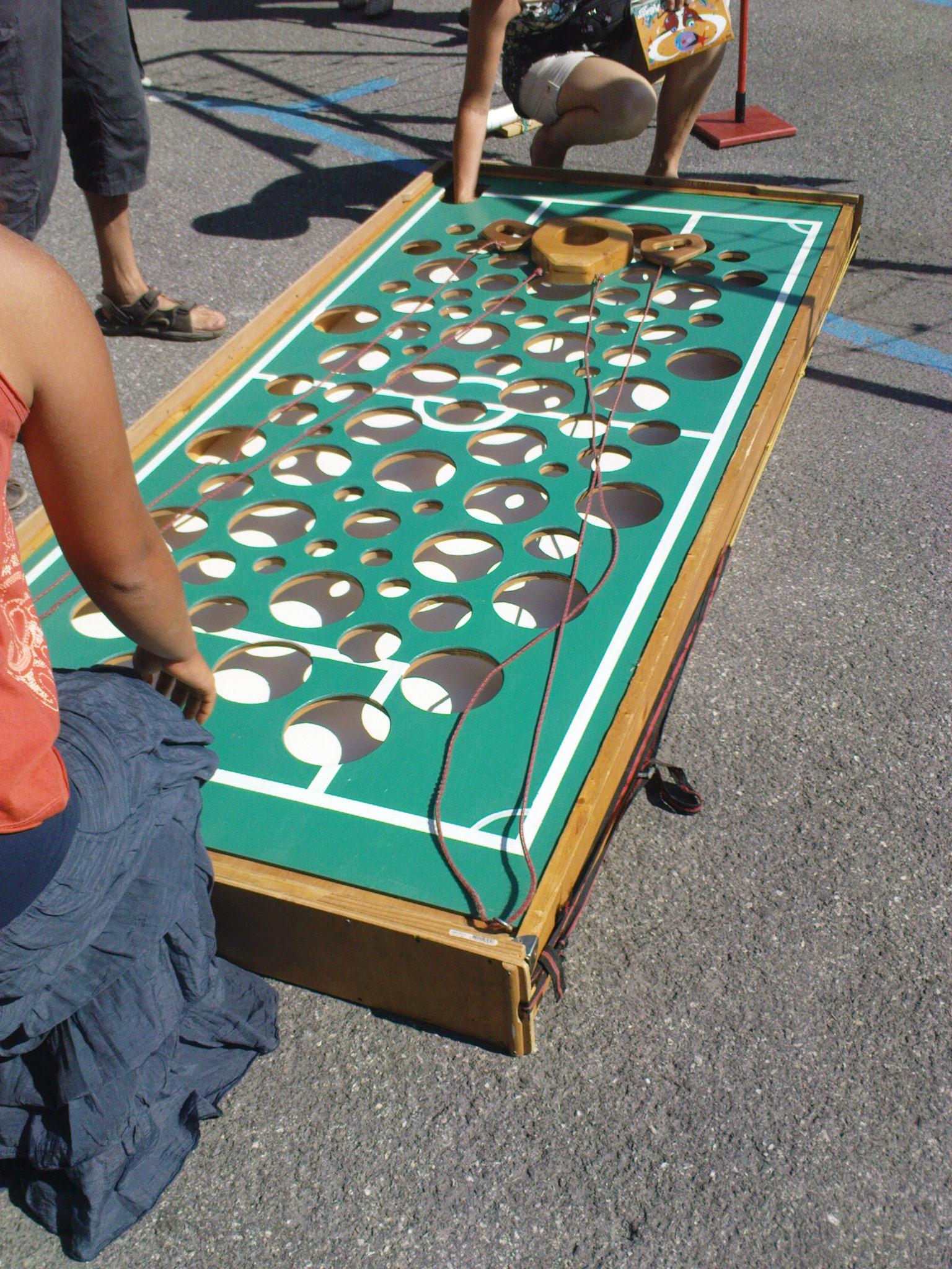 Jeux Traditionnels en bois à Beaufort