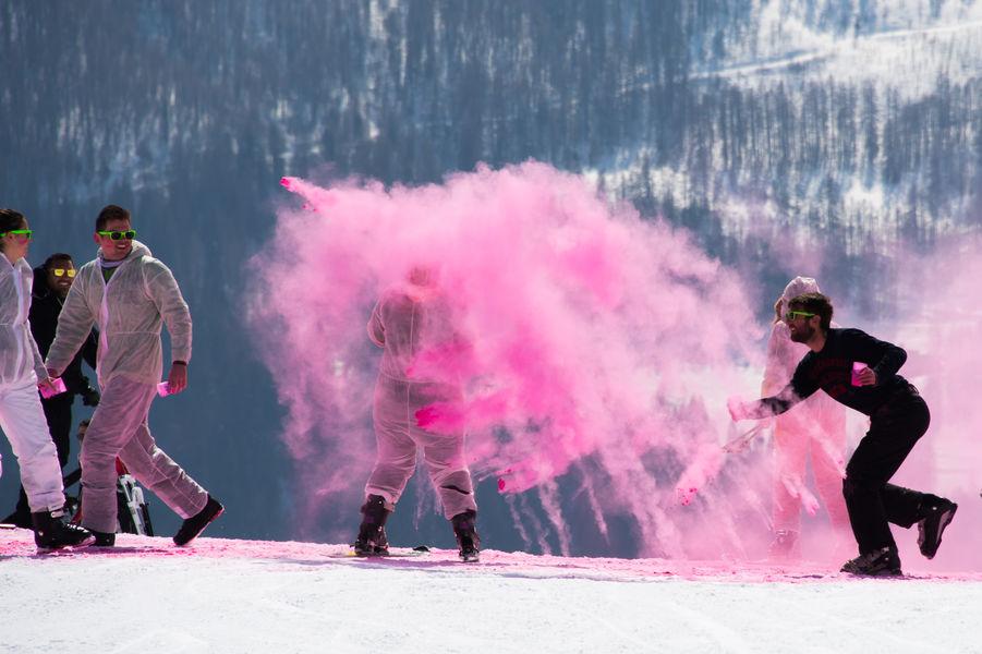Color'Ski à Orcières - � OTO G. Baron