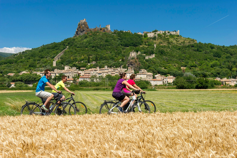 Foot and cycle paths : ViaRhôna 15 - Le Pouzin / Cruas > Châteauneuf-du-Rhône / Viviers