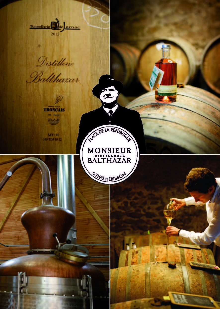 Distillerie de monsieur Balthazar Ⓒ @Distillerie de monsieur Balthazar2018