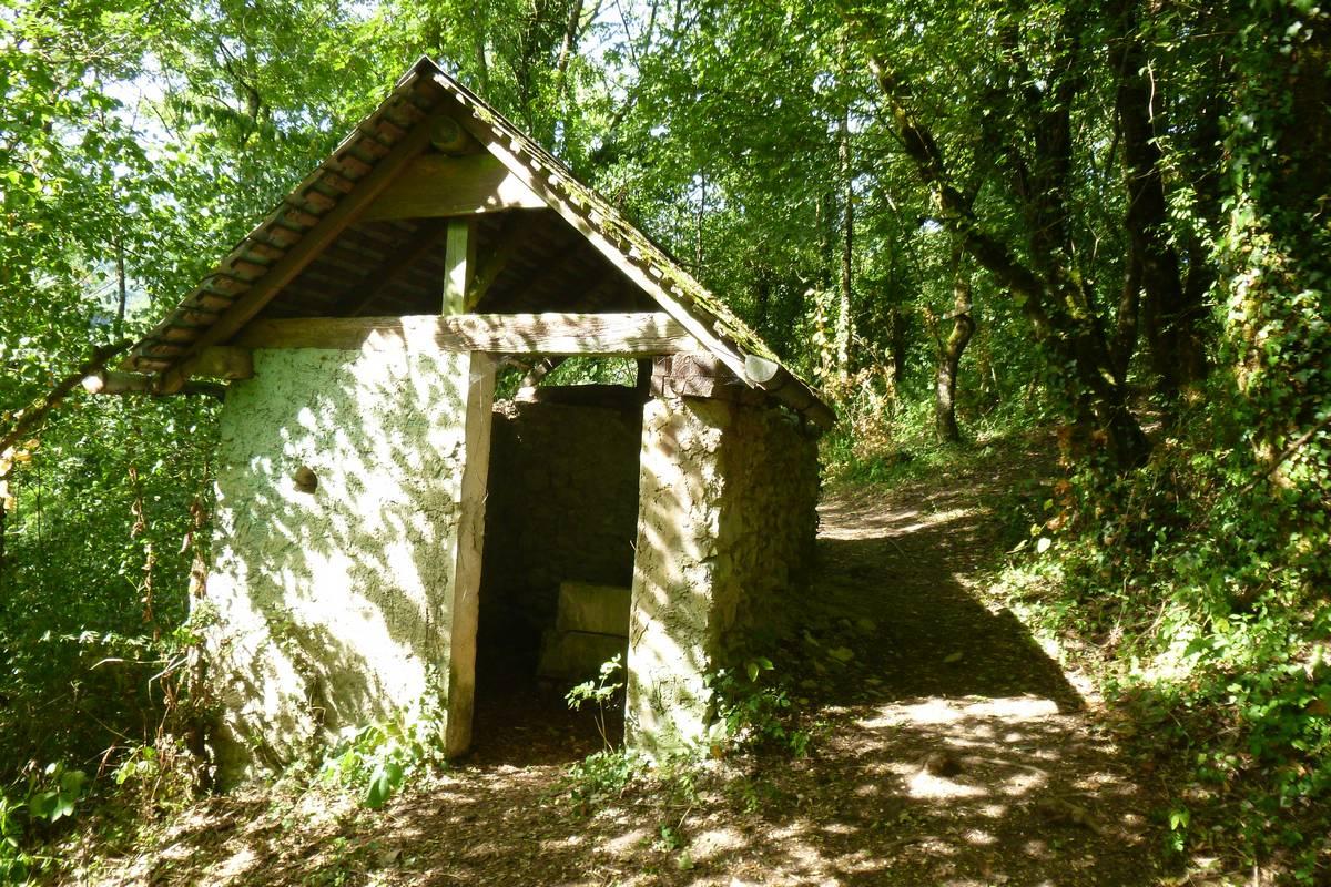 Sarto, maisonnette située dans les vignes, servant de cellier