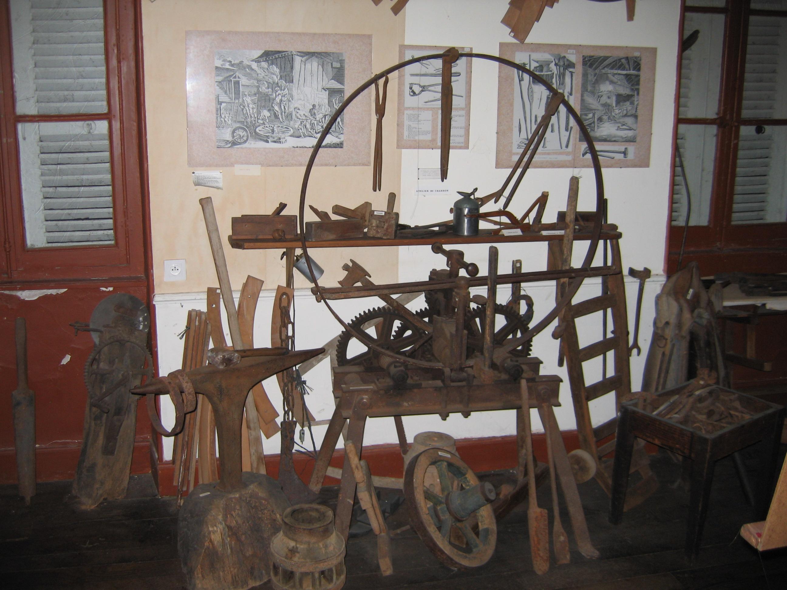 Musée rural montacutain Outillage Ⓒ Musée rural montacutain - 2017