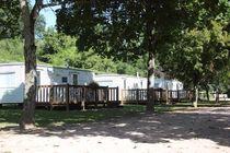 Camping Communautaire La Grande Ouche Mobil homes Ⓒ Camping La Grande Ouche - 2014