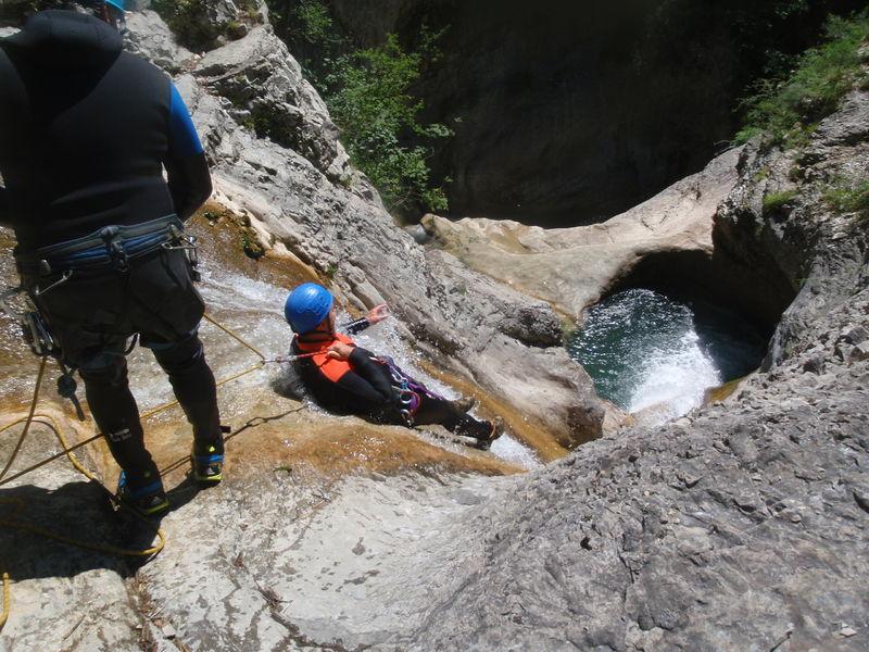 Guide canyon Serre-Ponçon - © Guide canyon Serre-Ponçon