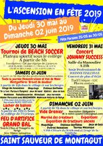 Ascension en fête : Vide grenier / Marché des créateurs / Expositions - Saint-Sauveur-de-Montagut