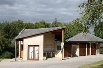 Campoing d'Herculat Bloc sanitaires Ⓒ Mairie Treignat - 2015