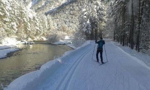 Piste de Ski de fond Val-des-Prés - © SIVOM VAL CLAREE