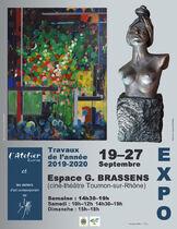 Exposition Bozarts et Atelier de scultpure  - Journées Européennes du Patrimoine - Tournon-sur-Rhône