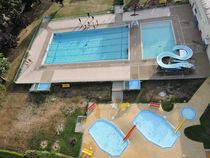 Piscine municipale Bassins Ⓒ J Lami