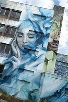 SIMPLEG2 Ⓒ Street art city à Lurcy-Lévis
