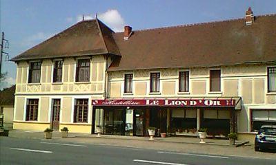 Hostellerie Le Lion d'Or Façade Ⓒ Hostellerie Le Lion d'Or